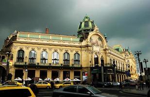 Praga. casa comunale foto