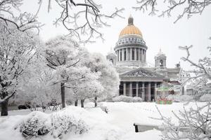 st. la cattedrale di isaac foto