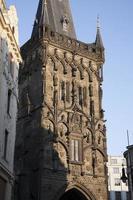 porta delle polveri, Praga foto