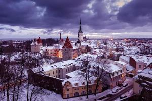 città vecchia di Tallinn foto