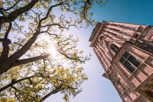 torre della sala di stoffa. cracovia, polonia, europa. foto