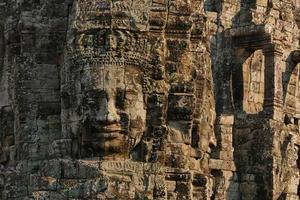 Bayon Temple di Angkor Thom in Cambogia