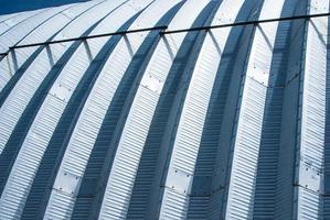 tetto in metallo foto