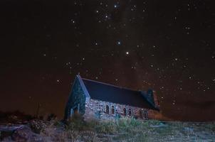 chiesa del buon pastore sul lago Tekapo