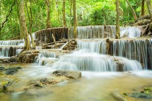 cascata in Tailandia foto