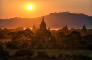 templi di Bagan, Myanmar foto