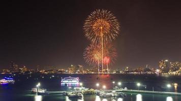 Festival internazionale dei fuochi d'artificio di Pattaya 2013