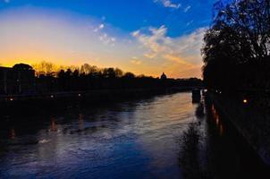 Vaticano e il fiume Tevere foto