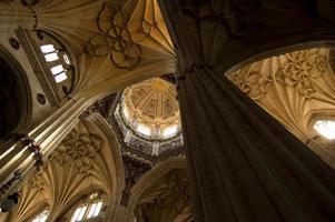 nuova cattedrale salamanca, spagna foto