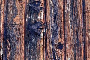 sfondo in legno è una vecchia annata retrò foto