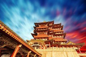padiglione tengwang, nanchang, t raditional, antico cinese archite