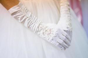 guanti da sposa foto