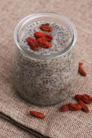 budino di semi di Chia