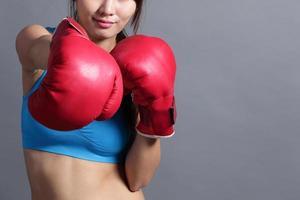 donna di boxe