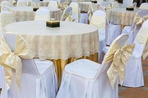 tavolo da ristorante moderno foto