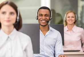 call center foto