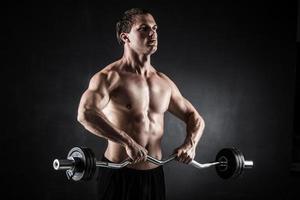 fitness con bilanciere