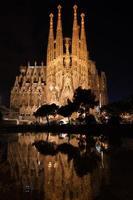 Sagrada Familia riflessa