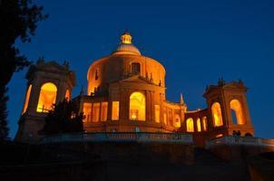 bologna, chiesa di san luca foto