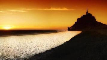 Mont Saint Michael, Francia foto