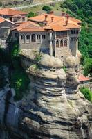il monastero di agrifoglio di varlaam, meteora, grecia foto