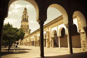mezquita in cordoba foto