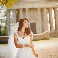 ritratto di bella sposa. foto