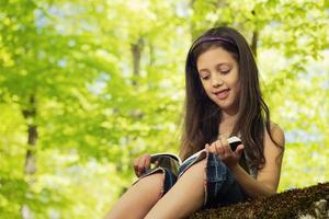 educazione forestale verde foto