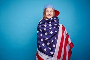 ragazza americana foto