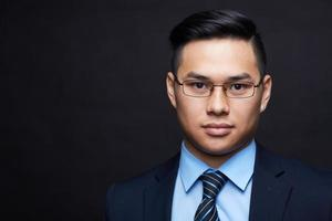 giovane uomo d'affari foto