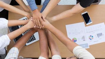 gruppo di persone in un concetto di collaborazione