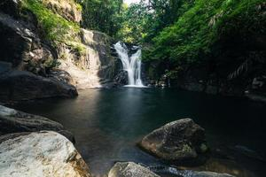 klong pla kang waterfall in thailand