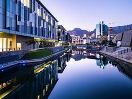 vista del canale a città del capo foto