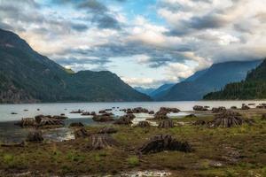 vista del lago buttle foto
