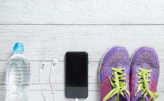 attrezzatura sportiva per allenamento piatto