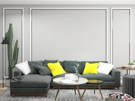 soggiorno contemporaneo foto
