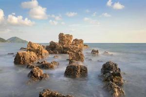 roccia del hinkrong in chanthaburi Tailandia