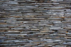 muro di assi di legno