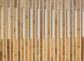 vecchia plancia di bambù di tono marrone foto