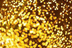 bokeh luce colorata foto