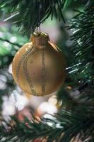 lampadina dell'albero di Natale foto