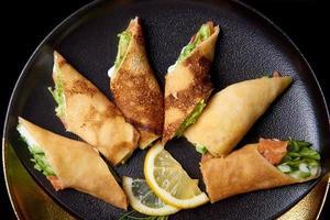 pasta ripiena con pesce