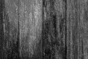 vecchia struttura di legno nero