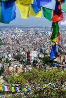 città di Kathmandu in Nepal foto