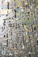 scheda di circuito foto