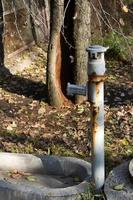vecchio pozzo d'acqua