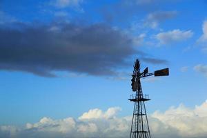 mulino a vento americano foto