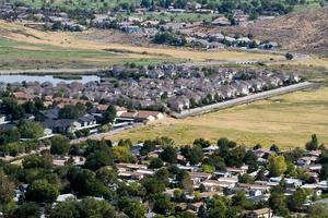 espansione incontrollata suburbana foto