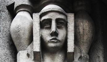 volto della dea hera foto