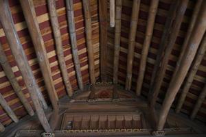 casa della radice tradizionale foto